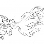 Skylanders Coloring Pages Dragon