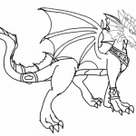 Skylanders Coloring Pages Zirra the Red