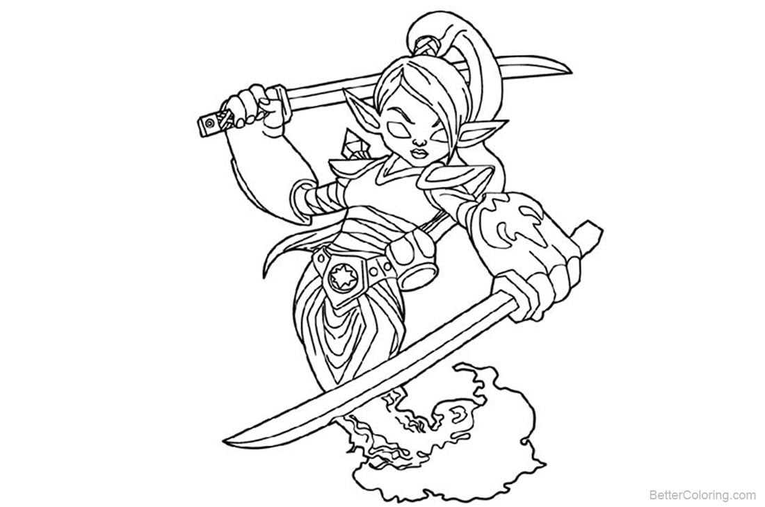 Skylanders Coloring Pages printable for free