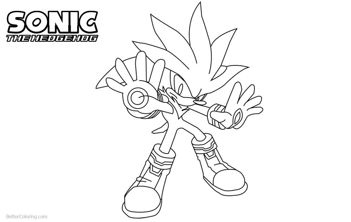 Sonic The Hedgehog Coloring Pages by lineartdrawer printable for free