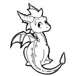 Spyro Coloring Pages Fan Art by loveayume