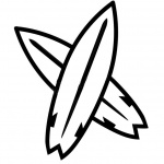 Surfboard Coloring Pages Simple Clipart