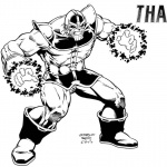 Thanos Coloring Pages Fan Fiction by fredmast