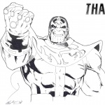 Thanos Coloring Pages Infinity Gauntlet by Sabretooth451
