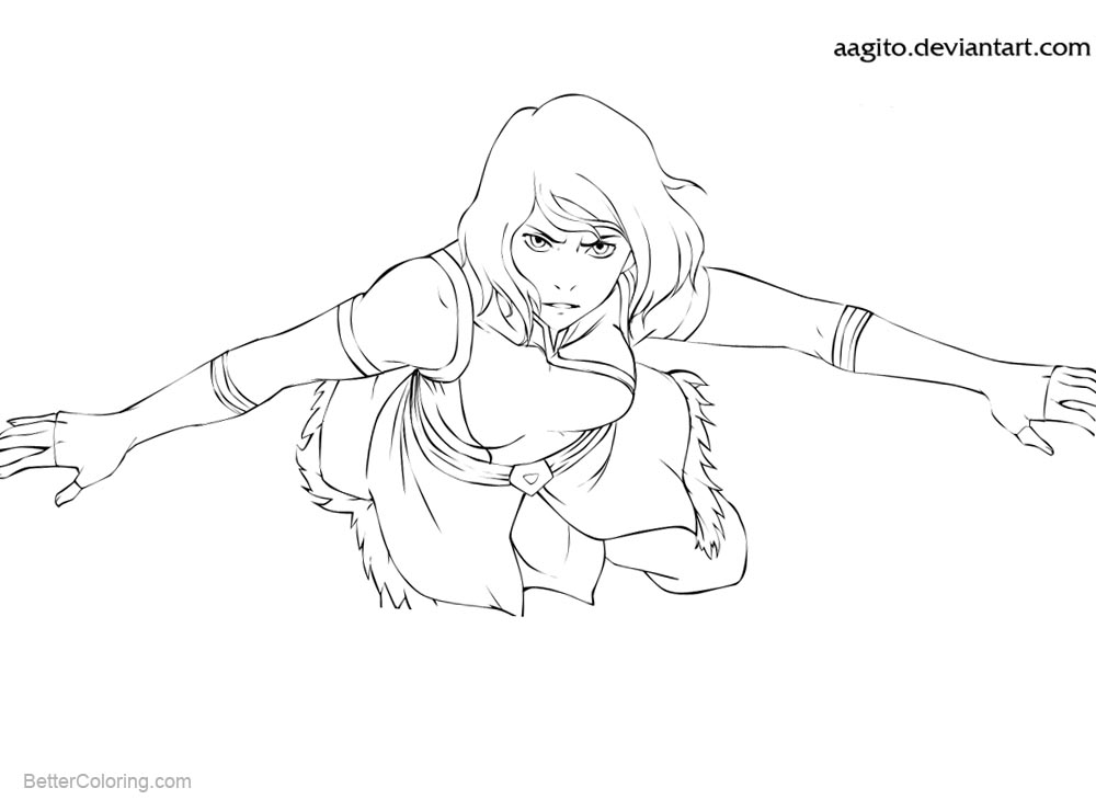 Avatar Coloring Pages - Costumepartyrun