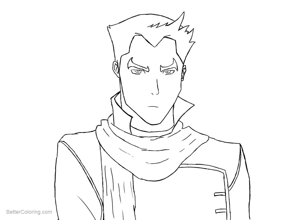 free legend of korra coloring pages | The Legend of Korra Coloring Pages Mako by flame891 - Free ...