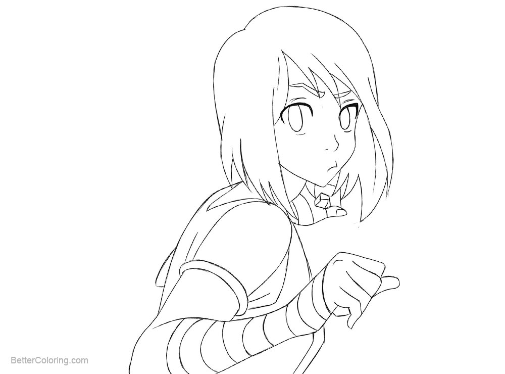 Free The Legend of Korra Coloring Pages by Ediiee on DeviantArt printable