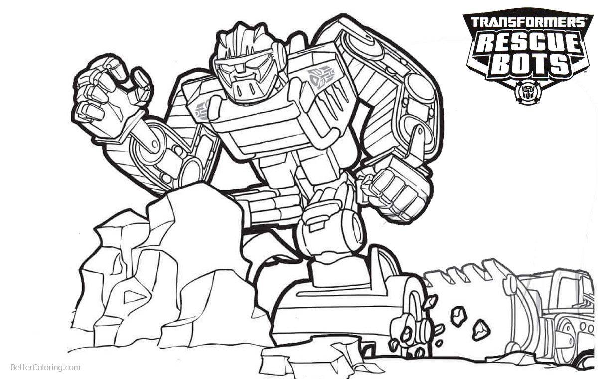 Transformers rescue bots heatwave coloring pages best for Rescue bots heatwave coloring page