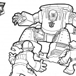 Transformers Rescue Bots Characters Coloring Pages Free Printable