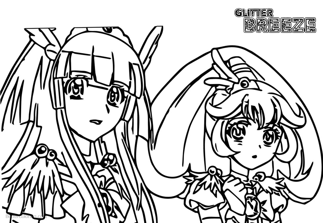 Two Precure Girls from Glitter
