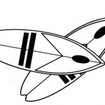 Two Surfboards Coloring Pages