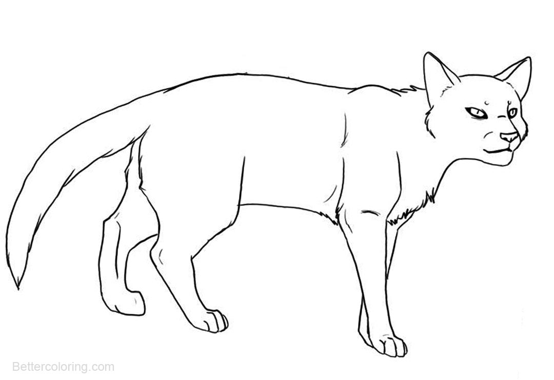 Warrior Cats Coloring Pages by mireille - Free Printable ...