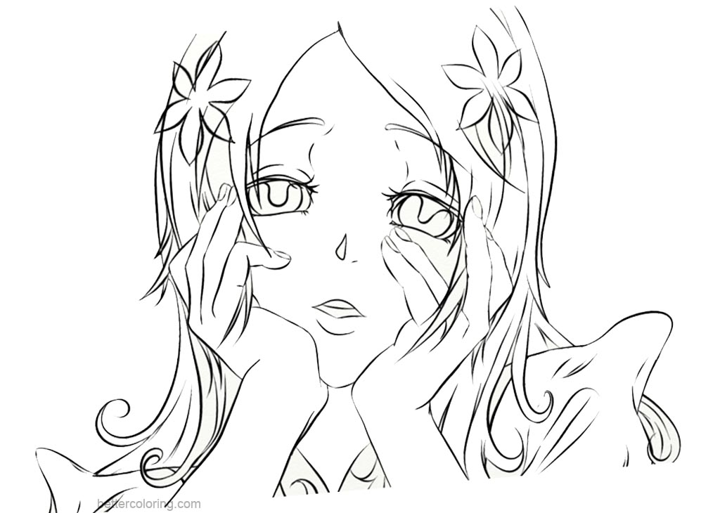 Yandere simulator coloring pages fan art of yandere for Yandere simulator coloring pages