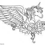 Chibi Alicorn Coloring Pages Mlp Free Printable Coloring Pages