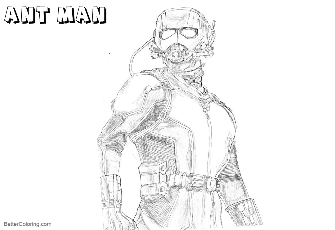 Free Ant Man Coloring Pages by homer311 on DeviantArt printable