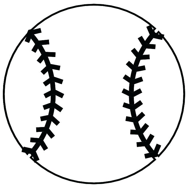 Free Baseball Coloring Pages Black and White printable