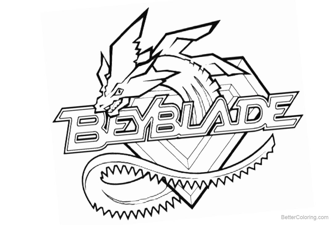 Modern Beyblade Coloring Pages Pictures - Coloring Paper ...