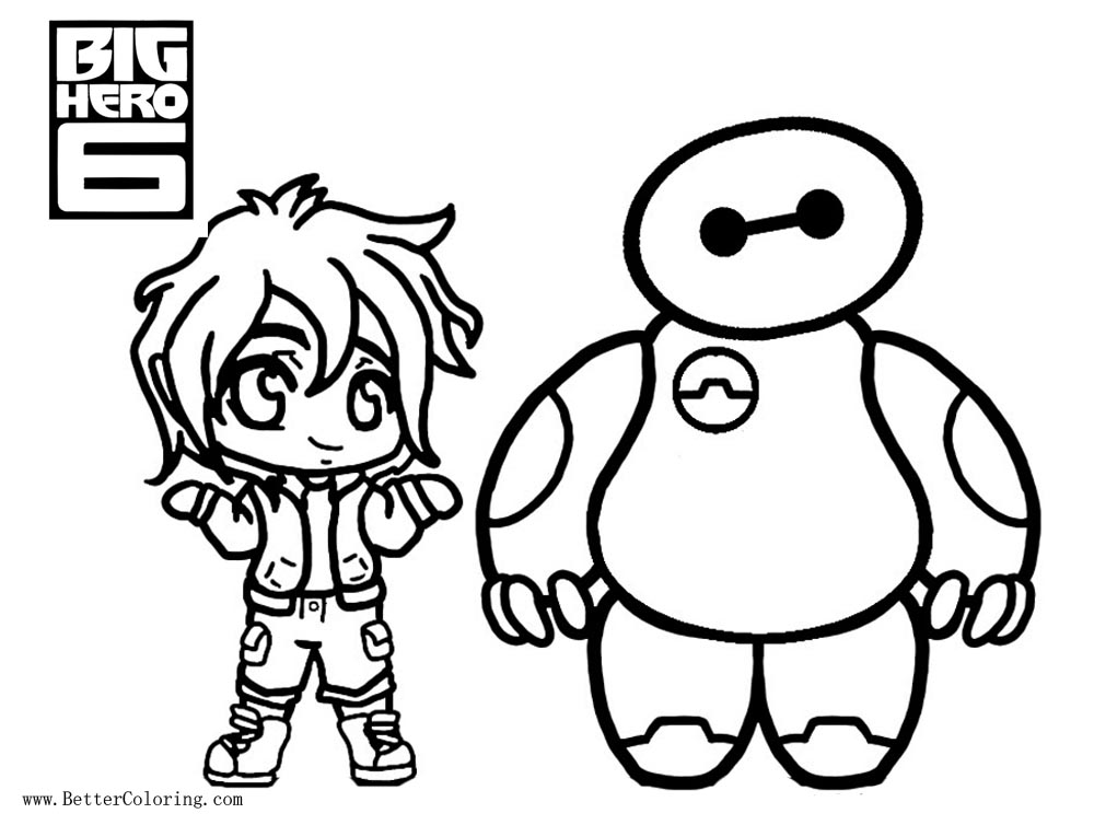 Free Big Hero 6 Coloring Pages By Rena Muffin Printable For Kids And Adults