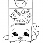 Patty Cake From Shopkins Coloring Pages Free Printable Coloring Pages