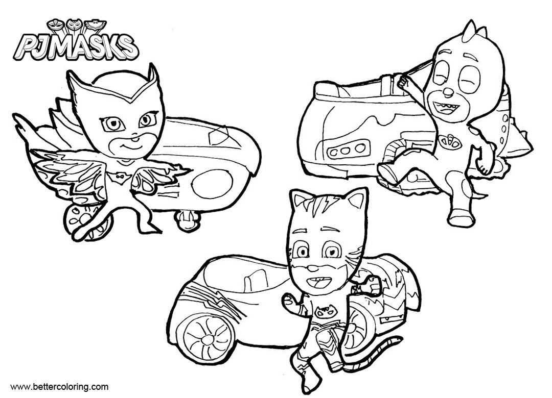 Catboy Pages Coloring Pages