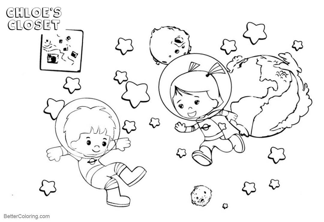 Free Chloe's Closet Coloring Pages Kids Are Playing printable