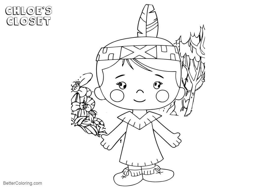Free Chloe's Closet Coloring Pages  Lil Lineart printable