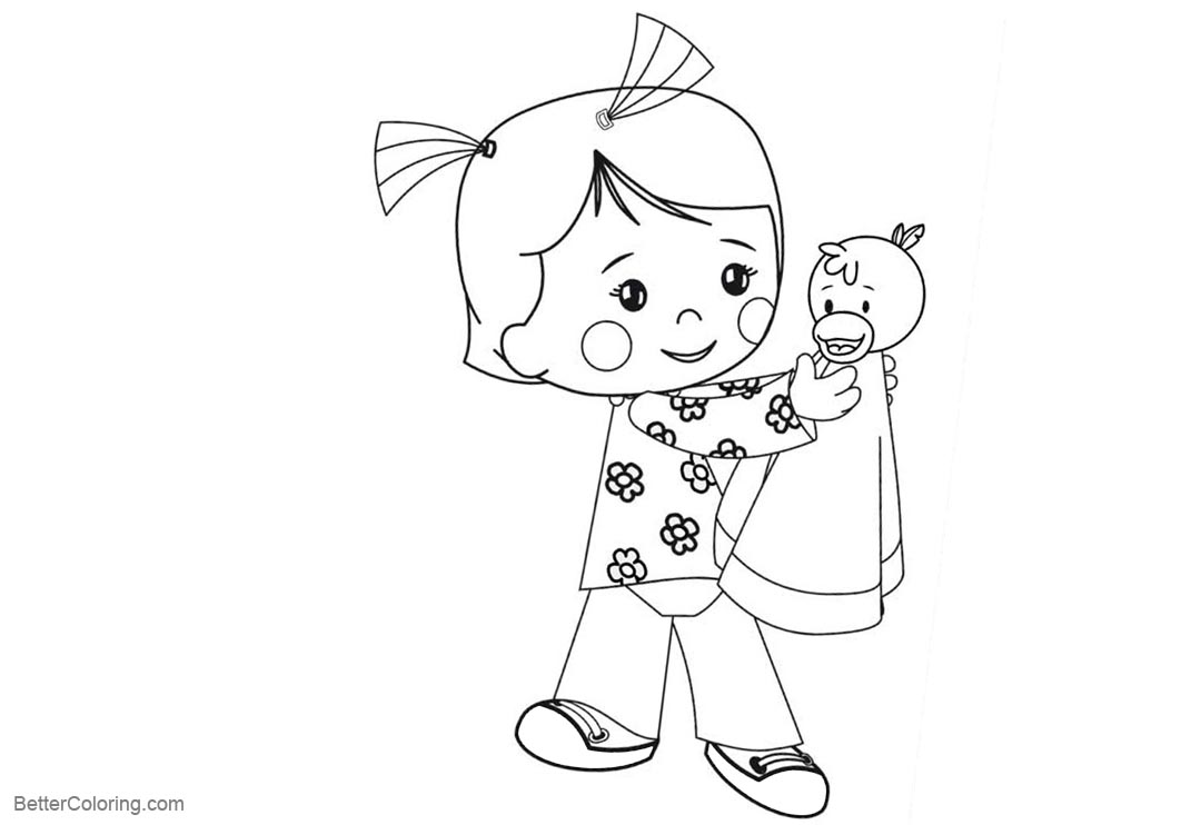 Free Chloe's Closet Coloring Pages Play with Doll printable