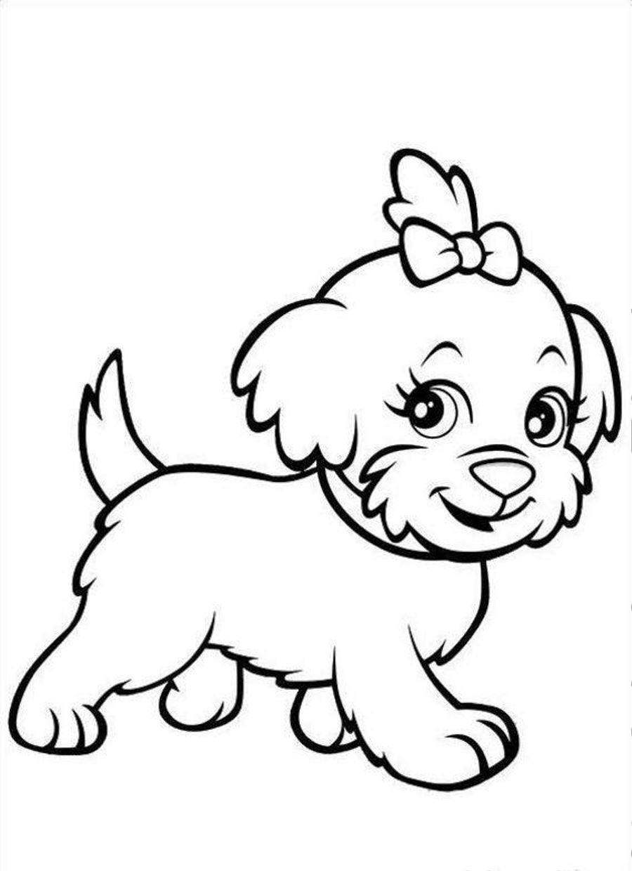 Free Dog Coloring Pages Dog Days of Summer printable