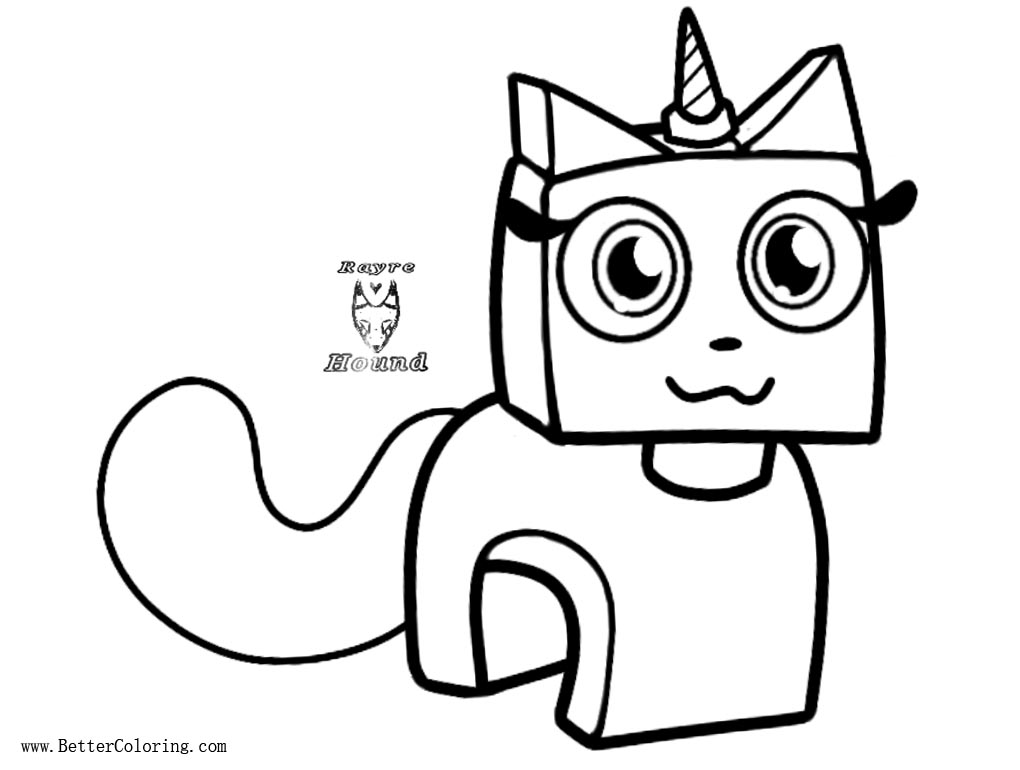 Free F2U Unikitty Coloring Pages Base by Roxwolf the fluffy printable