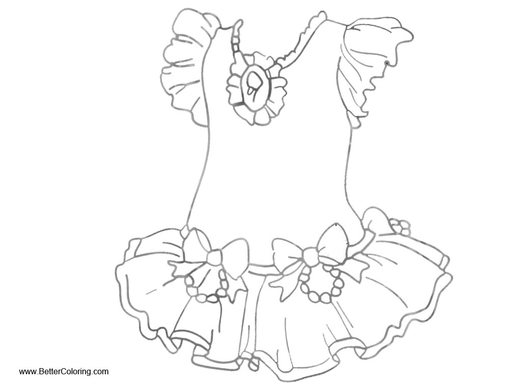 Fancy Nancy Coloring Pages Dress Free Printable Coloring
