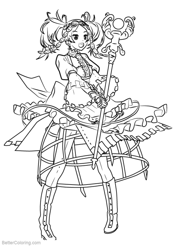 Free Fire Emblem Coloring Pages Lissa printable