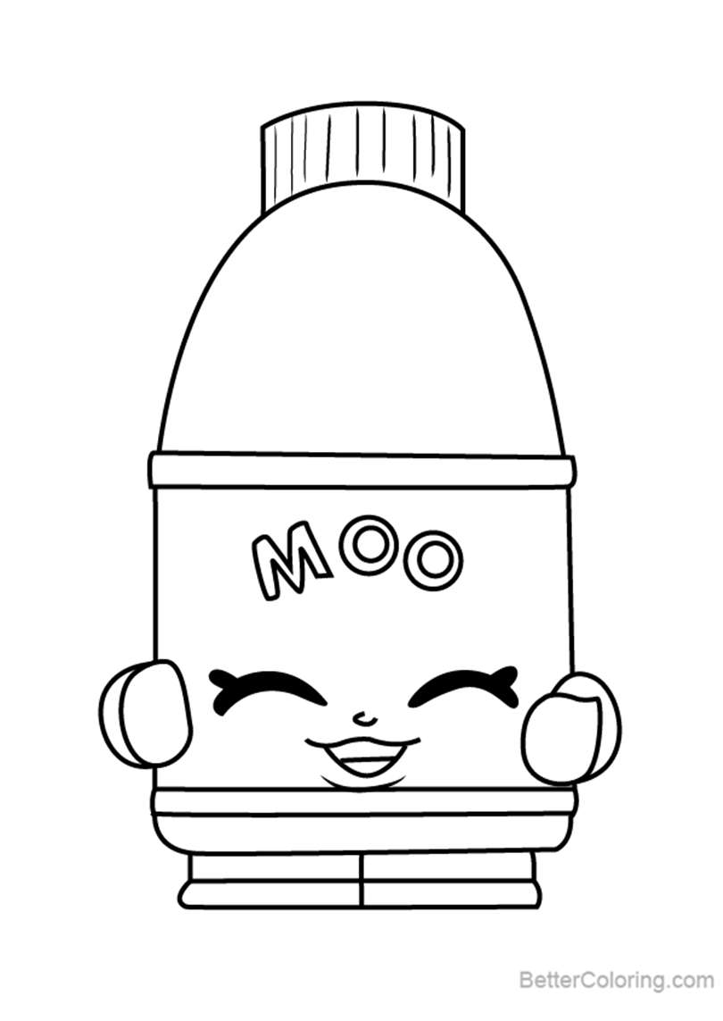 Free Flava Ava from Shopkins Coloring Pages printable