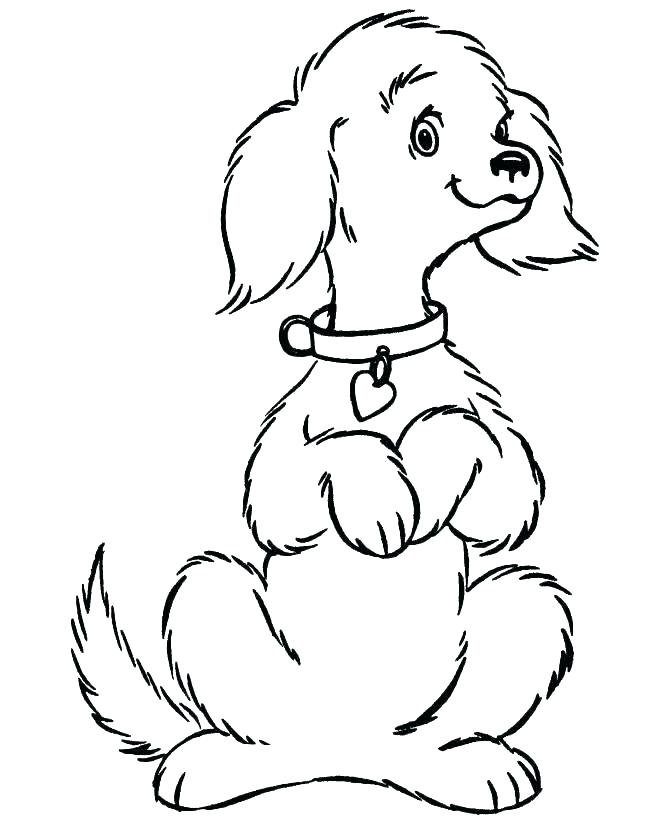 Free Guard Dog  Coloring Pages printable