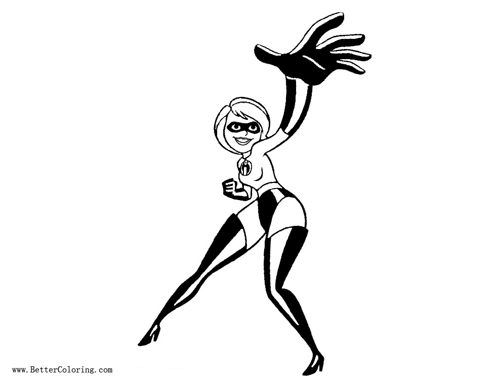 Free Incredibles Coloring Pages Mom printable
