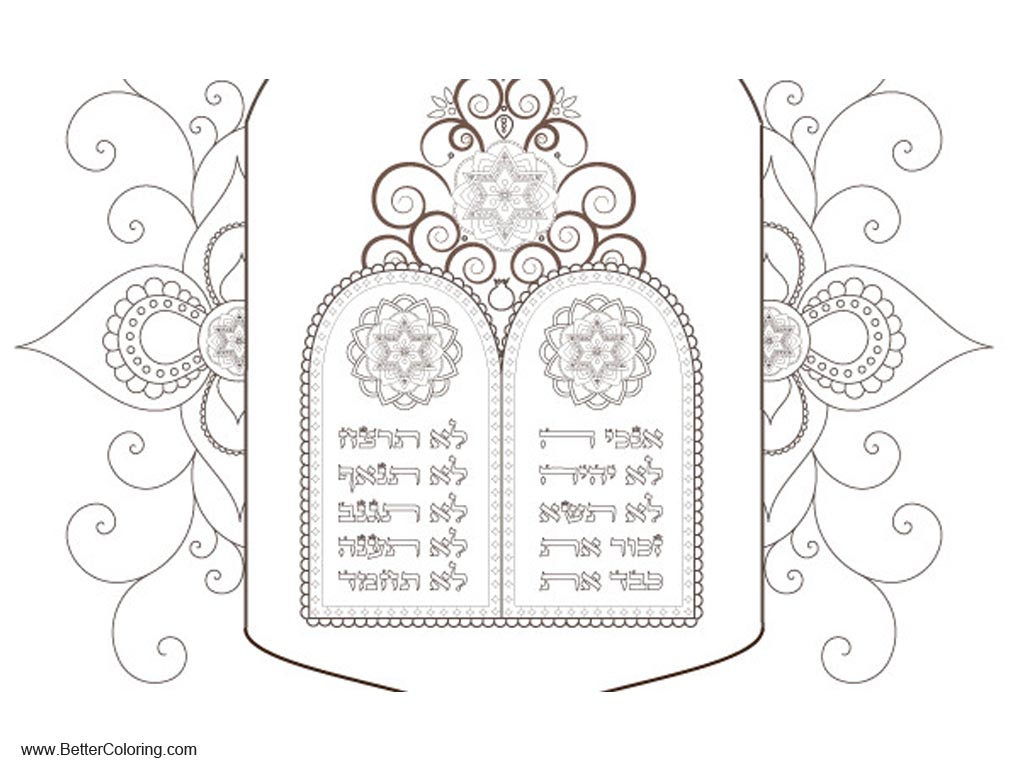 Emejing Free Printable Ten Commandments Coloring Pages Pictures ...