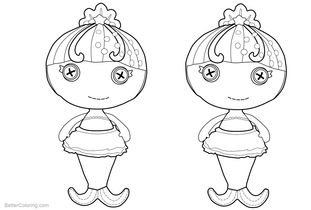 chibi pretty mermaid coloring pages - photo#35