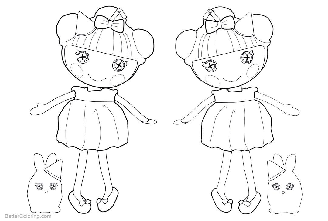 Free Lalaloopsy Coloring Pages Jewel Sparkle printable