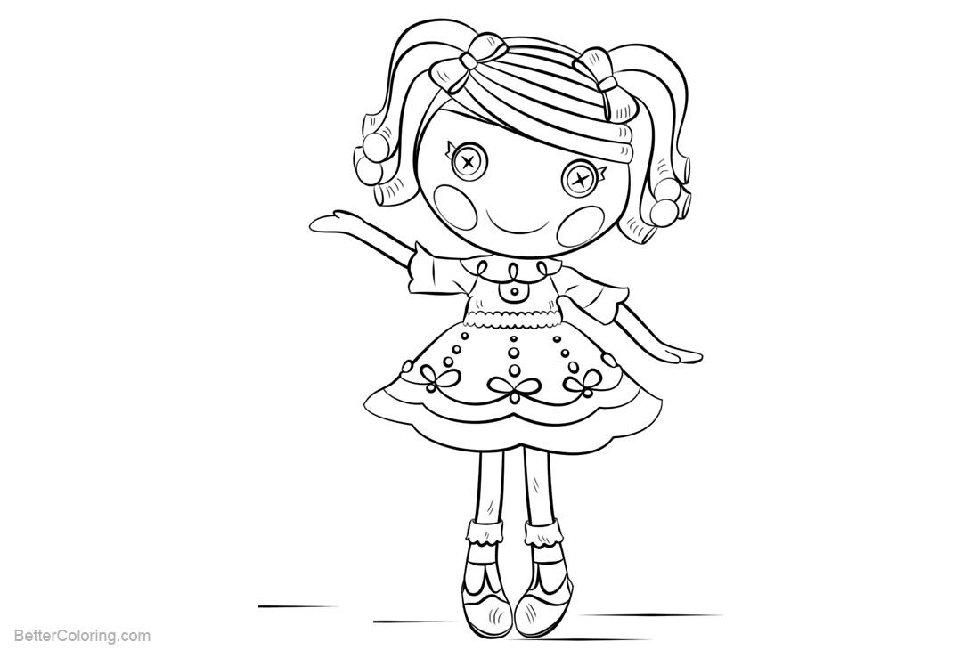 Free Lalaloopsy Coloring Pages printable