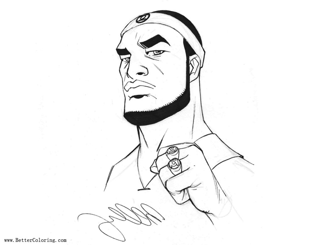 Lebron James Coloring Pages by Bernard Chang - Free ...