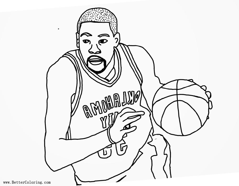 Lebron James Coloring Pages Free Printable