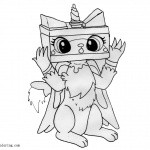 Unikitty Coloring Pages Master Frown - Free Printable ...