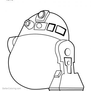 Free Lego Star Wars R2d2 Coloring Pages Easy Drawing printable