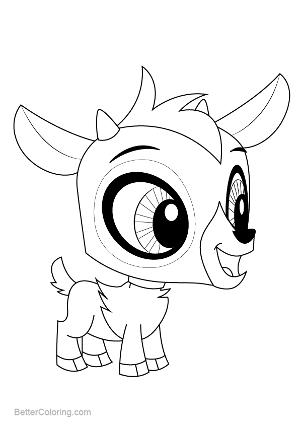 Free Littlest Pet Shop Coloring Pages Baa Baa Lou printable