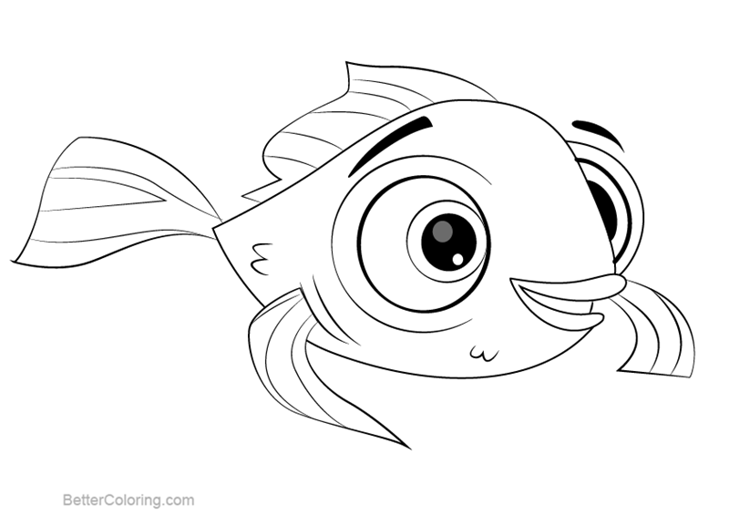 Free Littlest Pet Shop Coloring Pages Goldy printable