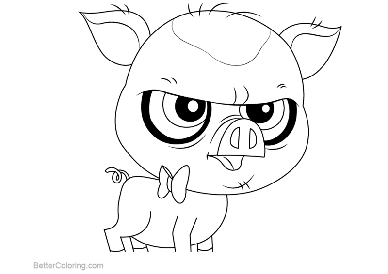 Free Littlest Pet Shop Coloring Pages Mary Frances printable