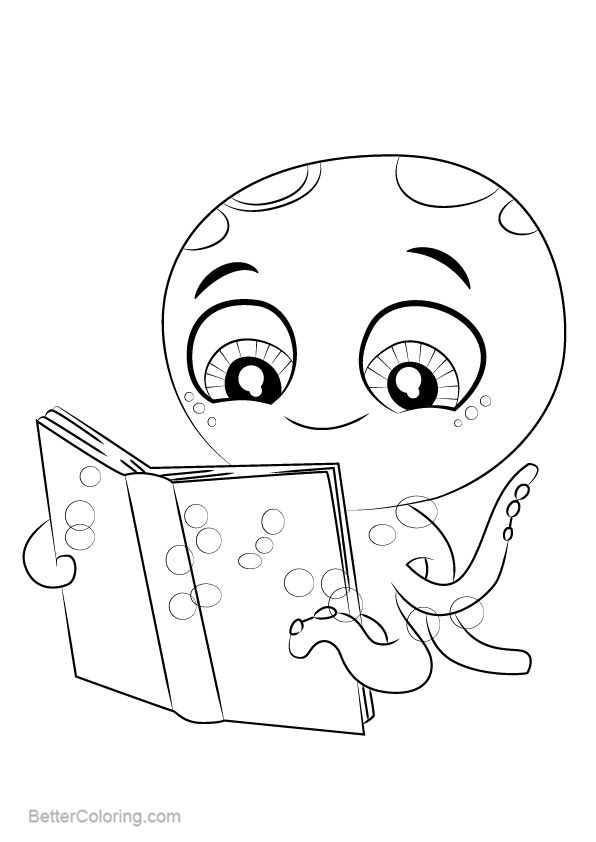 Free Littlest Pet Shop Coloring Pages Ollie Arms printable