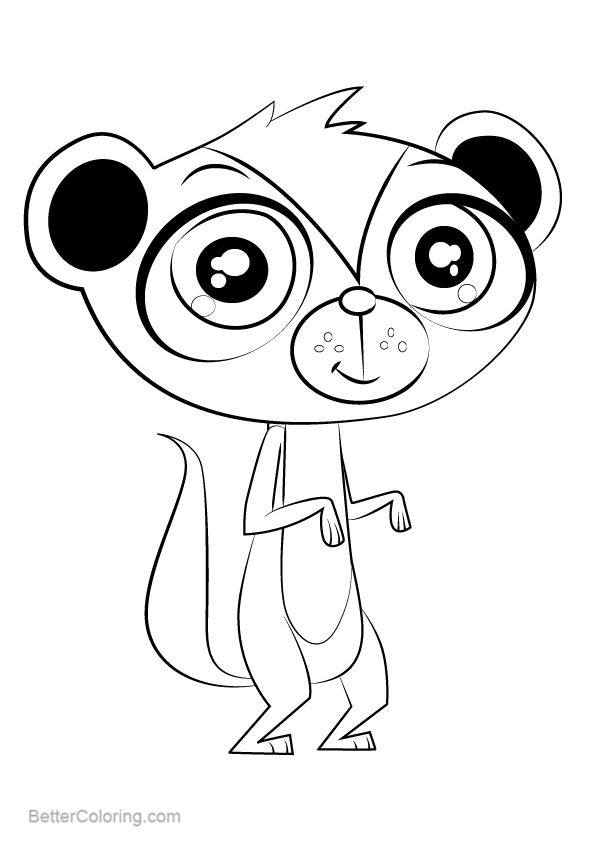 Free Littlest Pet Shop Coloring Pages Sunil Nevla printable