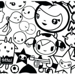 Tokidoki Characters Coloring Pages Free Printable Coloring Pages
