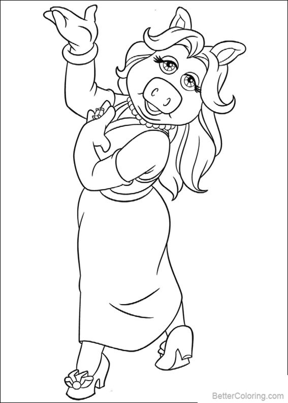 Free Muppet Babies Coloring Pages Characters printable