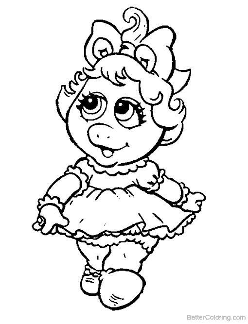 Muppet Babies Coloring Pages - Best Image Of Coloring Page Revimage.Co